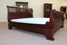 Wunderschönes Bett James Classic Mahagoni