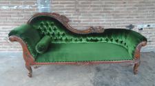 Edle Couch Recamiere Ottomane Mahagoni