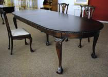 Esszimmer LOIS STIL Mahagoni 6 Stühle Tisch 300 cm
