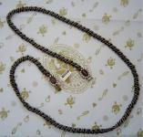 KONPLOTT Kette beige antique bronce