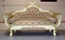 Wunderschöne Recamiere Ottomane Couch Chaise Loung