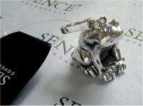 Anhänger Frog silver von SENCE COPENHAGEN