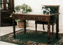 Englischer Schreibtisch Sekretär Mahagoni