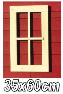 EFE 35x60 4+6FE Gartenhausfenster, Carportfenster 35 x 60 cm feststehend