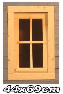Gartenhausfenster, Carportfenster 44 x 69 cm zum Öffnen Kippfenster - Vorschau 1