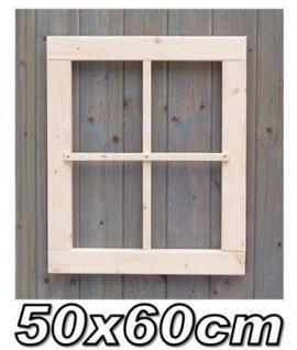 Gartenhaus fenster, Gartenhausfenster, Carportfenster 50 x 60 cm feststehend 4-9 Felder - Vorschau 1