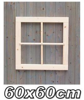Gartenhaus fenster, Gartenhausfenster, Carportfenster 60 x 60 cm feststehend 4-9 Felder