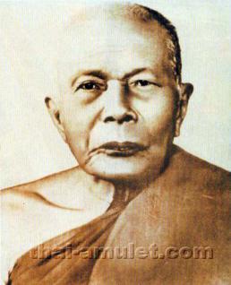 Luang Pho Daeng Thai Amulett aus dem Jahr 1969. Phra Rian Luang Pho Daeng & Luang Pho Charoen Ruun Bot Lann Nuea Thong Daeng des ehrwürdigen Luang Pho Charoen, zu Lebzeiten Abt des Wat Thong Noppakhun, Phetchaburi, Thailand. - Vorschau 5