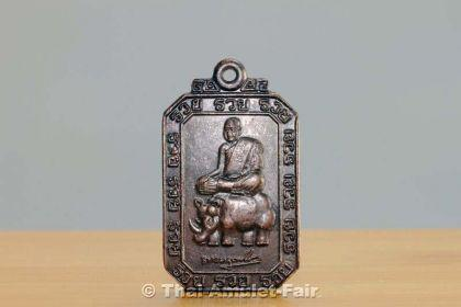 Luang Pho Samrit Nan Raed Ruun 12 Ruai Thai Amulett - Vorschau 3