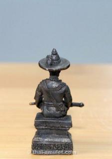 König Taksin Thai Amulett von 11 Mönchen geweiht - Vorschau 5