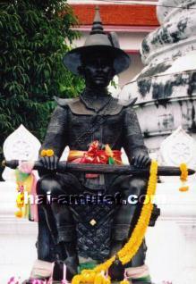 König Taksin Thai Amulett von 11 Mönchen geweiht - Vorschau 2