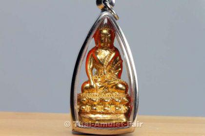 Geweihtes Buddha Thai Amulett Phra Gring Wisutthi Metta aus dem Wat Suthat Bangkok