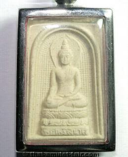 Geweihtes Thai Buddha Amulett vom 03.10.1993 - Vorschau 1