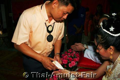Thailändische Hochzeitsmuschel für Phuu Kaen Zeremonie. - Vorschau 5