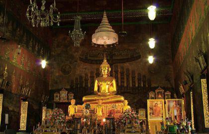 Original Phra Somdej Wat Rakhang Buddha Thai Amulet - Vorschau 5