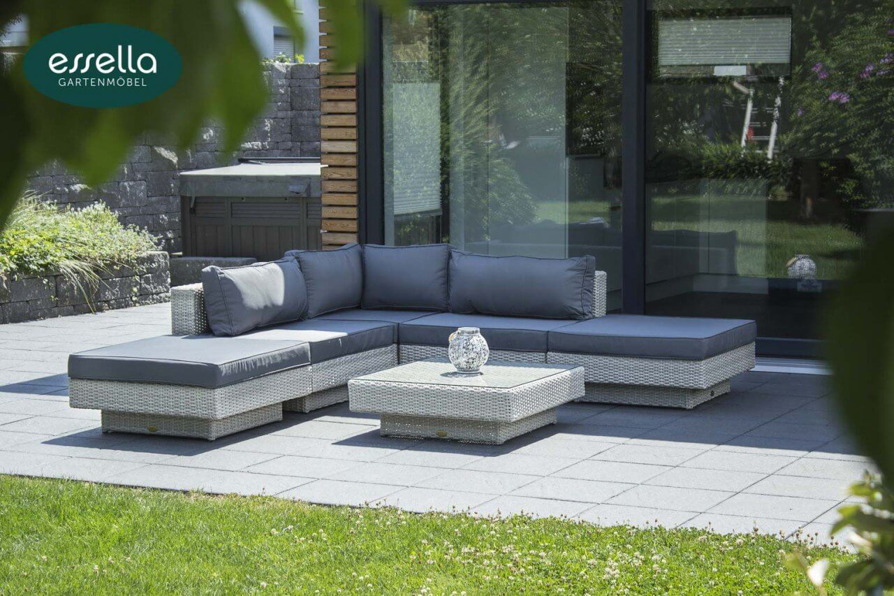 Lounge mobel garten haus design ideen - Loungemobel garten grau ...