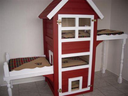 katzenhaus selber bauen katzenhaus selber bauen expli. Black Bedroom Furniture Sets. Home Design Ideas
