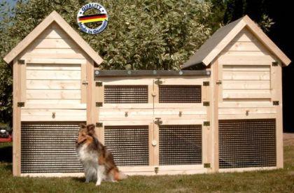 hasenstall kaninchenstall annemarie kaufen bei ronalds holzladen. Black Bedroom Furniture Sets. Home Design Ideas