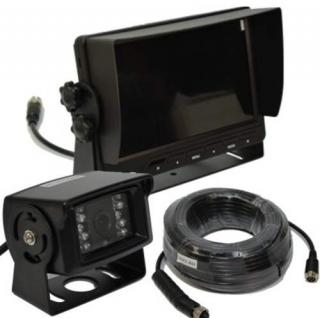Rückfahrsystem 12/24V 120° Rückfahrkamera