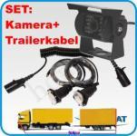 Rückfahrkamera 110° Trailerset Anhängerbetrieb