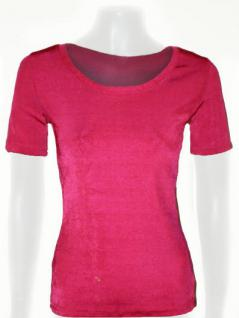 Feel Good Shirt kurzarm in changierendem Pink - Vorschau 1