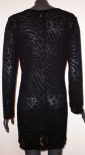 Caren C. Kleid transparent in schwarz - Vorschau 3