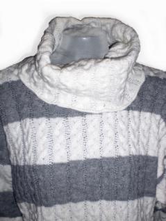 Hurra, gestreifter Rollkragen-Pullover - Vorschau 2