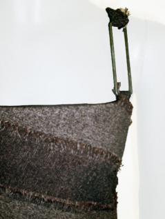 Mayentl Kleid in braun gestreift - Vorschau 2