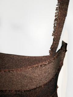 Mayentl Kleid in braun gestreift - Vorschau 3
