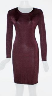 Kleid von Byzance in aubergine