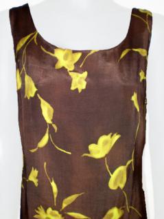 Sinequanone Kleid lang geblümt in braun - Vorschau 2