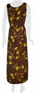 Sinequanone Kleid lang geblümt in braun - Vorschau 3