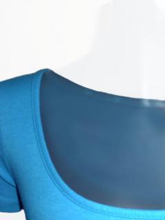 Claude Zana Shirt kurzarm in himmelblau - Vorschau 2