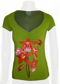 Isabel de Pedro Shirt kurzarm in grün - Vorschau 1