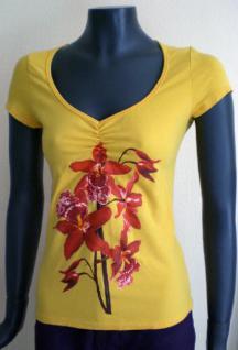 Isabel de Pedro Shirt kurzarm in gelb - Vorschau 1