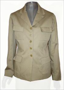 Tara Jarmon Safari-Jacke in khaki - Vorschau 1
