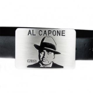 Iced Out Bling Gürtel - AL CAPONE