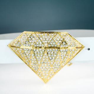 Iced Out Bling Gürtel - 346 STONES DIAMOND gold - Vorschau