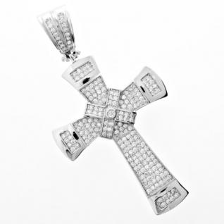 Iced Out Bling MICRO PAVE Anhänger - WOW KREUZ 2