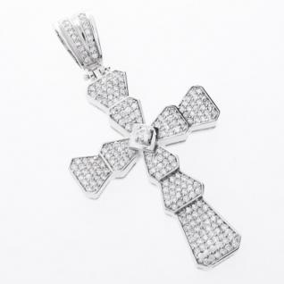 Iced Out Bling MICRO PAVE Anhänger - CLASS CROSS