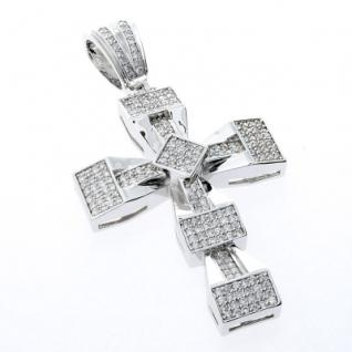 Iced Out Bling MICRO PAVE Anhänger - ICE BLOCK CRO