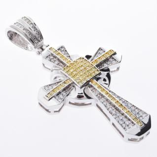 Iced Out Bling MICRO PAVE Anhänger - SHINE CROSS