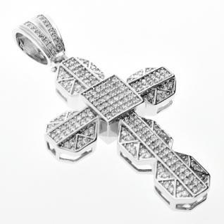 Iced Out Bling MICRO PAVE Anhänger - GRIP CROSS - Vorschau