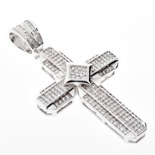 Iced Out Bling MICRO PAVE Anhänger - KITE KREUZ