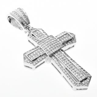 Iced Out Bling MICRO PAVE Anhänger - KING CROSS