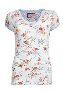 PiP Damen Shirt Toy Chinese Blossom White