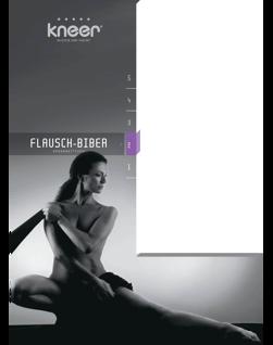 Spannbetttuch Kneer Q80 Flausch-Biber 90/190-100/200 cm