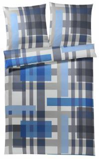 JOOP! Bettwäsche Layers 4058-02 blau