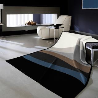 Biederlack Cotton-Home Decke Welle Jeans 150 x 200 cm