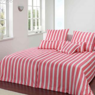 Elegante Comfort-Satin Bettwäsche Nice 2102-1 Himbeer